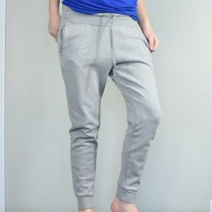 Adidas Light Grey Jogger Sweatpants Sz M